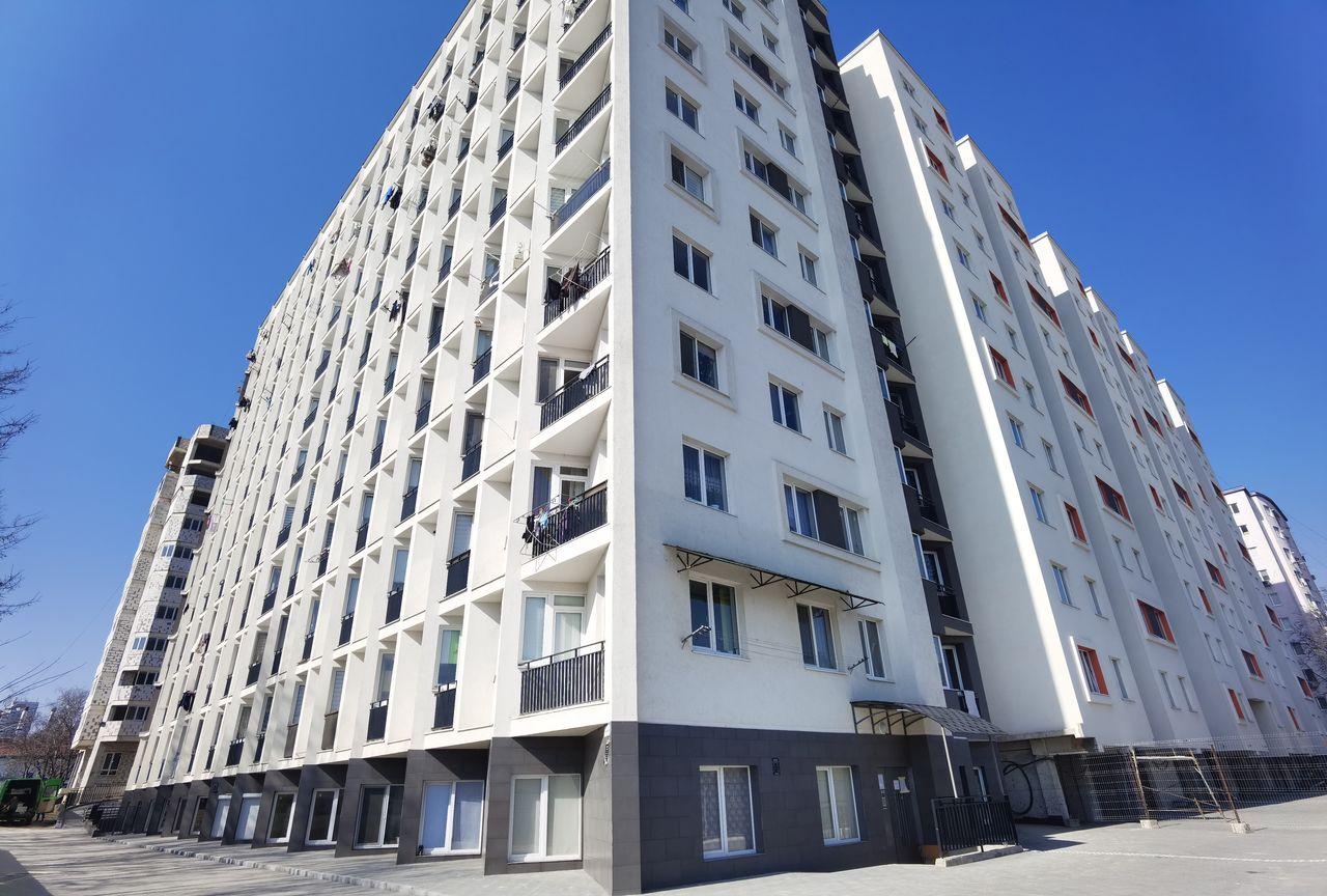 Apartament cu 2 camere + bucătărie cu living, etajul 3, Botanica
