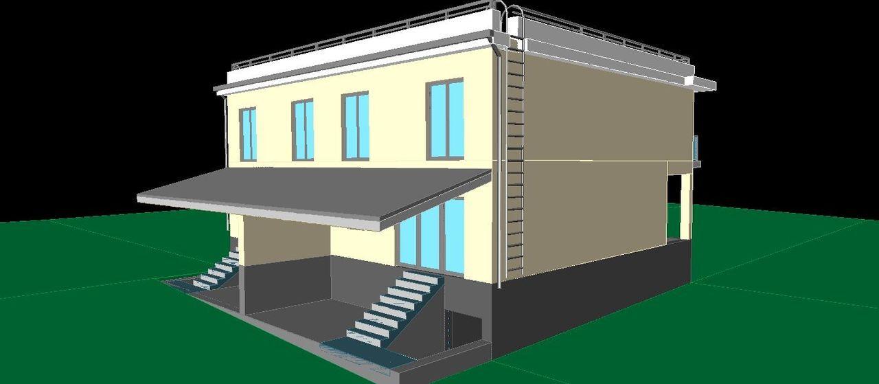 Duplex pentru 2 familii în loc liniștit cu aer curat 4 km de la oraș, Grătiești