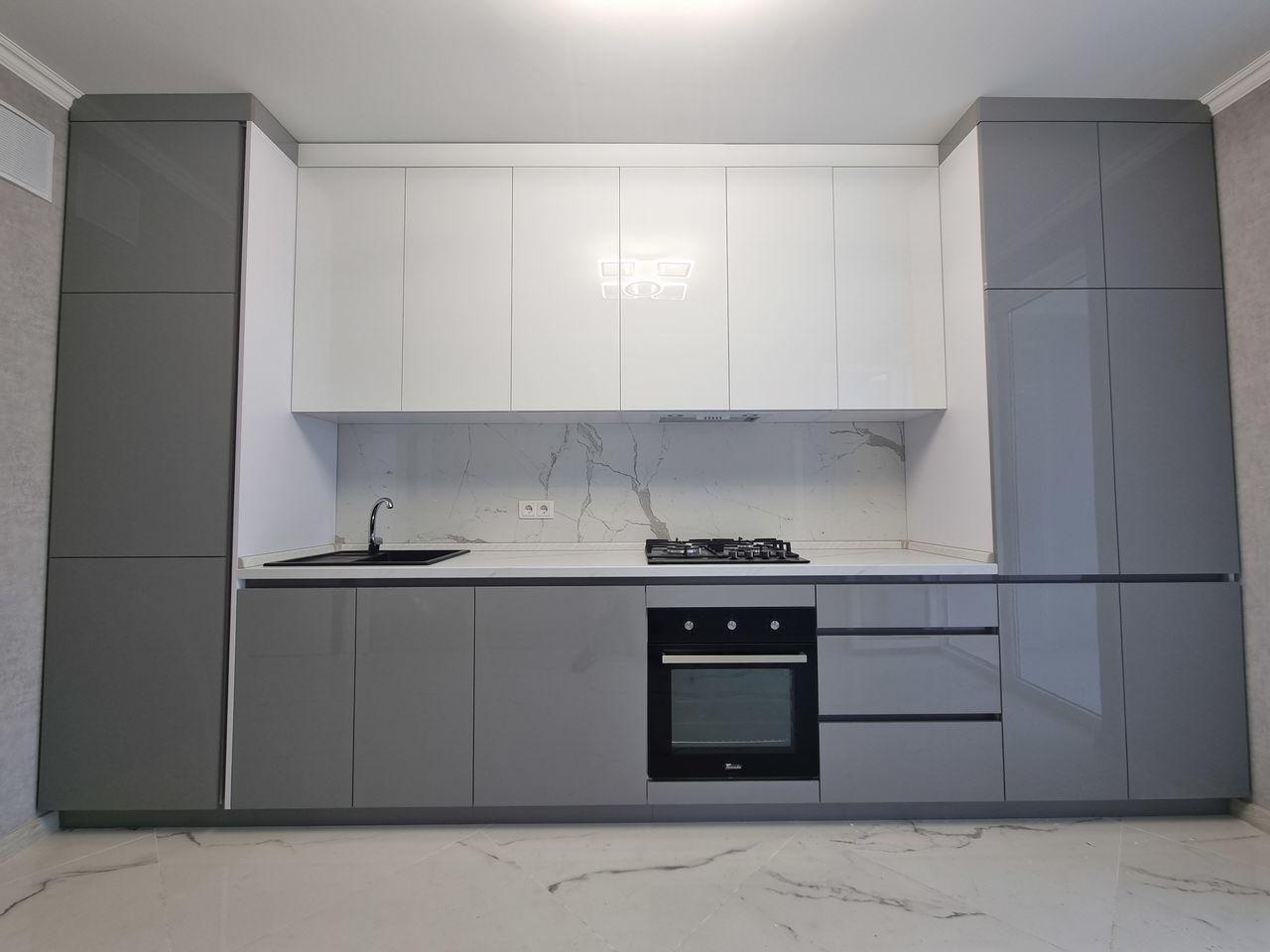 2-комнатная квартира + гостиная, Евроремонт, Буюкань, И. Буздуган 2А