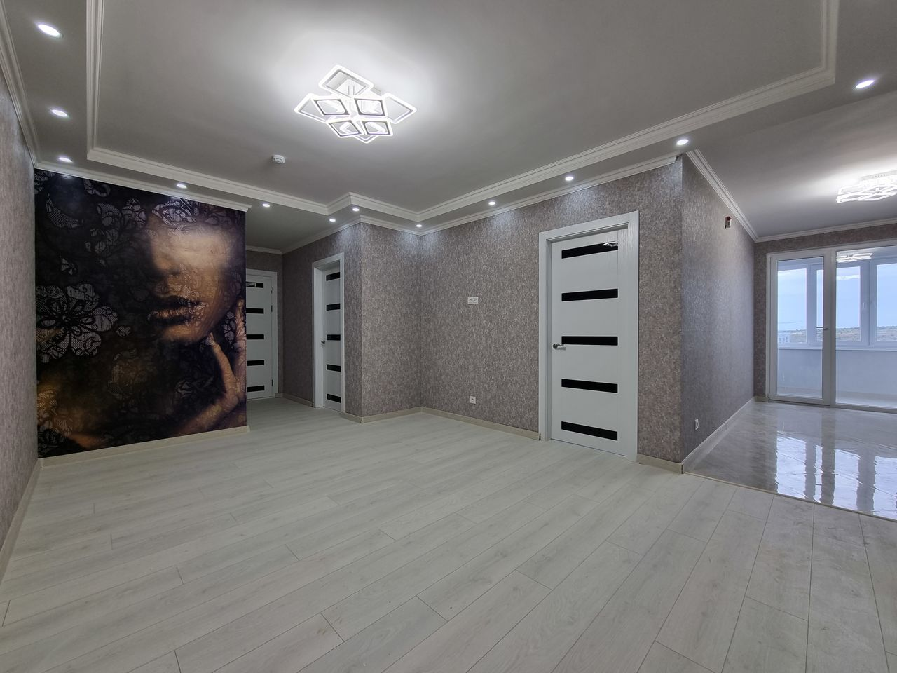 Буюкань, ExFactor, 2-комнатная квартира + гостиная с ремонтом под ключ!